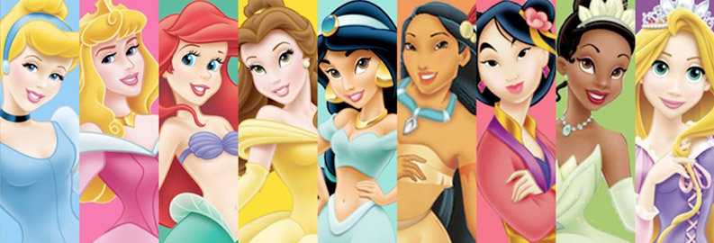 Top ten disney princesses