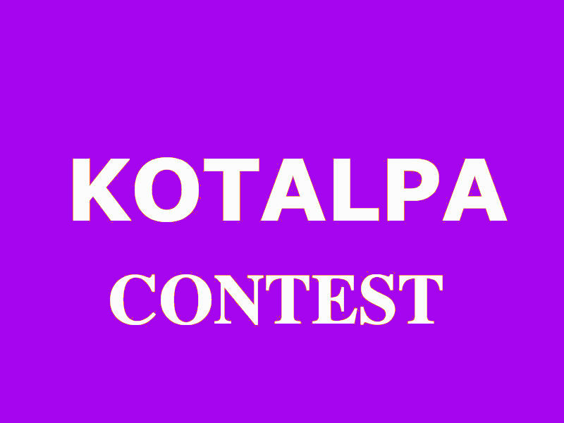 Kotalpa Contest #2: Favorite Games!