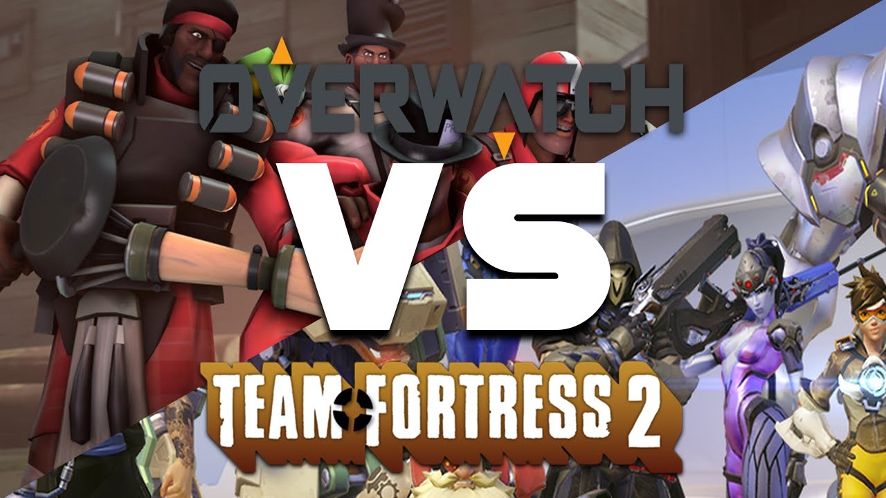 OVerwatch is not worth $40 Part 2 OVERWATch vs team fortress 2